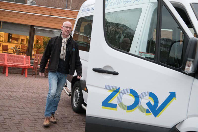 Afbeelding: ZOOV Op Maat gaat met drie taxibedrijven in zee!